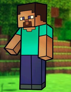 How to Draw Steve from Minecraft, Minecraft Steve, Step by Step, Video Game Characters, Pop Culture, FREE Online Drawing Tutorial, Added by Dawn, May 9, 2013, 3:59:50 pm drawing tutorials, minecraft imag, simpl graphic, draw steve, minecraft steve, graphics, game, steve minecraft, kid