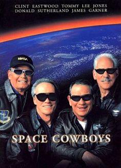 『スペース・カウボーイ』 Space Cowboys (2000) ~ 『Space Cowboys』 La brochure de ce film a été publiée au Japon dans 2000. Le feuillet a aussi été publié en même temps ~ S'il vous plaît faites référence à la photographie de la couchette inférieure.