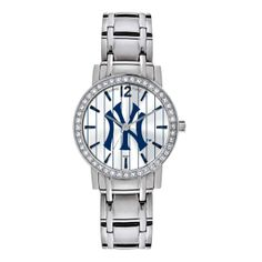 New York Yankees Game Time All Star Women's Wrist Watch NY Logo