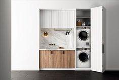 """Exceptional """"laundry room stackable washer and dryer"""" info is readily available on our internet site. Check it out and you wont be sorry you did. Laundry Cupboard, Laundry Closet, Laundry Room Organization, Small Laundry, Laundry In Bathroom, Laundry Rooms, Storage Organization, Washer Dryer Closet, Laundry In Kitchen"""