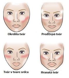 ▷ ideas for natural make up to . - eye make-up face make up according to the shape of the face concealer rouge and highlighter - Le Contouring, Contour Makeup, Contouring And Highlighting, Skin Makeup, Contouring For Long Face, Highlighter Makeup, Eyeshadow Makeup, Beauty Make-up, Beauty Hacks