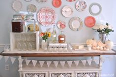 I have gathered together some ideas on DIY Drink Stations that are sure to impress and quench your guests thirst.