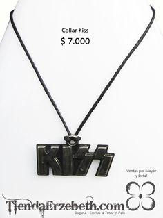 collar kiss bogota accesorios rock heavy metal tienda local envios medellin cali manizales tunja pasto