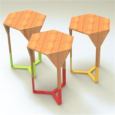 The Hex Stool by Alexandra Smith #workshopped #supacentamoorepark