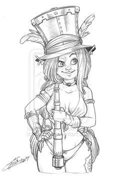 Punkette fairy ( statuette ) by Capia on deviantART