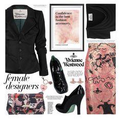 """Female Fashion Designers Rule!"" by katjuncica ❤ liked on Polyvore featuring Vivienne Westwood, viviannewestwood, internationalwomensday, pressforprogress, FemaleDesigners and ByWomenForWomen"