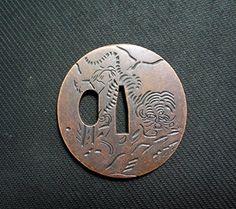 Japanese Sword TSUBA/Zinc Alloy Material/KATANA/WAKIZASHI/TANTO/No.17 longquan sword http://www.amazon.com/dp/B018IEZWNO/ref=cm_sw_r_pi_dp_xkXvwb1BA02CM
