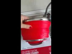 Basics2you Collapsible Colander Video Review from Italy