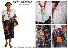 Traje típico de San Lorenzo, Suchitepequez