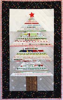 Selvage Blog: Selvage Christmas Tree Tutorial