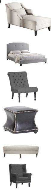 Amazing furniture sale! Chairs and ottomans from $204! Limited quantities. South Shore Decorating Blog: MUST SEE DAILY DEALS - Updated Daily