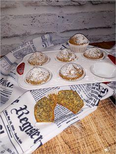 Pieguski, czyli pyszne babeczki z makiem Cupcakes, Sweets, Bread, Kitchen, Food, Dishes, Pastries, Polish Cuisine, Cupcake Cakes