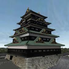 Edo Castle Tokyo Japan  江戸城 復元