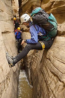 canyoneering near zion with red desert adventure. guided excursions are private and can be tailored to families with kiddos.
