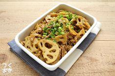 コクうま。豚肉とレンコンの和風カレー炒め煮 | 作り置き・常備菜レシピサイト『つくおき』