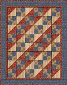 4 Square Quilt Patterns - WoodWorking