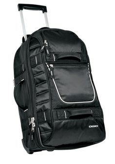 Ogio Pull Through Bag. This eye-catching overnighter is sized to fit  overhead bins cf73118220cfb