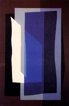 Silencio en la Noche by Emilio Pettoruti (Argentinian 1892-1971)