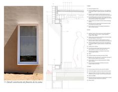 Image 2 of 18 from gallery of House for Pau & Rocio / Arnau Tiñena Architecture. Courtesy of Arnau Tiñena Architecture Renovation, Attic Renovation, Attic Remodel, Detail Architecture, Architecture Graphics, Planer Layout, Window Detail, Construction Drawings, Architectural Section