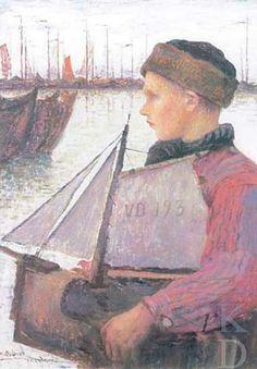 Henri Jules Guinier 1880-1900 Volendam #NoordHolland #Volendam