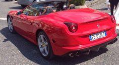 La nostra Fantastica Ferrari California T in un Giorno d'Estate!!!