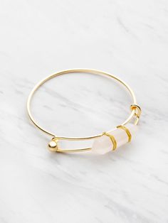 Bracelet réglable en cristal de couleur aléatoire
