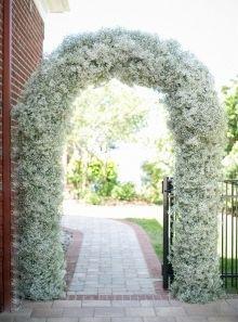 Wedding Inspiration from Isha Foss Events/ Elegant white arch way:)