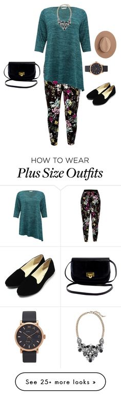 """""""Plus size #1"""" by kathleen-marie-omana on Polyvore featuring River Island, M&Co, Marc Jacobs, Chloe + Isabel and Satya Twena"""