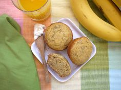 Banana Cornmeal Muffins via weelicious.com VERDICT - On take two, followed recipe exactly. Too dense and oddly heavy. Won't make again.