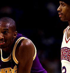 Kobe Bryant & Allen Iverson