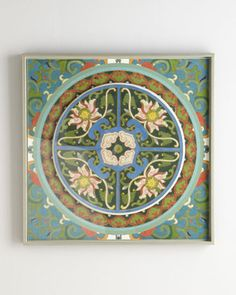 """Shop """"Kaleidoscope Collage"""" Print from Florence de Dampierre at Horchow, where you'll find new lower shipping on hundreds of home furnishings and gifts."""
