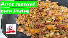 Arroz especial Fried Rice, Fries, Vegetables, Ethnic Recipes, Food, Youtube, Rice, Ethnic Food, Veggies