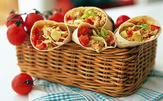 Vegetariska wraps