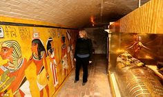 Downstairs at Downton: Tutankhamun exhibition goes on show at Highclere Castle