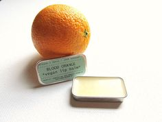 Kitsch and Fancys handmade lip balms are made in small batches from high-quality, all-natural ingredients. This vegan lip balm features blood orange essential oil to give it an all-natural citrus scent. The cute 0.25 oz slide tin is perfect to stick in your back pocket or your makeup bag. There is no color added to this vegan lip balm, but it is jam packed with moisturizing ingredients for naturally soft lips.  Ingredients: coconut oil, candellila wax (plant-derived wax), sweet almond oil…