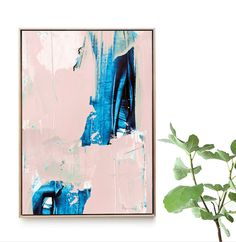 Large Abstract painting Printable Abstract Art Instant Large Art Prints, Pink Wall Art, Pink Walls, Abstract Art, Design Inspiration, Printable, Hand Painted, Handmade Gifts, Artwork