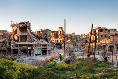 Aleppo After The Fall. Al-Hatab Square in Aleppo's Old City. Credit Sebastián Liste/Noor Images, for The New York Times