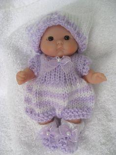 Stripe Romper Berenguer Itty Bitty Baby Doll Set Can be custom order at WeGirls etsy shop, send me a convo
