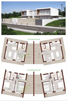 Architecture Plan, Contemporary Architecture, Town House Plans, Philippines House Design, Philippine Houses, Grand Designs, Design Case, Modern House Design, Home Projects
