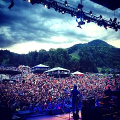 The Allman Brothers Band close out the Mountain Jam Festival held at Hunter Mountain, NY, on June 8, 2014.