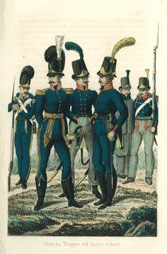 Swedish Napoleonic Soldiers 1813