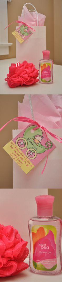 Sweet Pea Baby Shower Favor