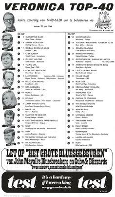 Blue Cheer, Petula Clark, Hey Joe, Otis Redding, 70s Music, Rock N Roll Music, Ray Charles, Aretha Franklin, Top 40