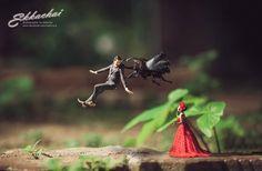 Ekkachai Saelow é um fotógrafo de casamento tailandês que não acredita apenas em…