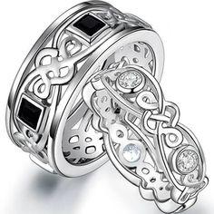 matching celtic wedding bands
