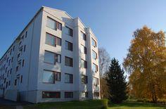 Housing by Alvar Aalto in Rovaniemi -Rovaniemi, Lapland, Finland