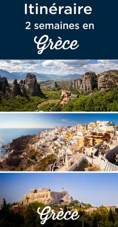 3 weeks in Greece: The Ultimate Itinerary. How to spend 20 or 21 days in Greece, all the best things to do + Where to stay. The best Itinerary for your 3 weeks trip to Greece. Greece Destinations, Greece Tours, Greece Itinerary, Greece Travel, Travel Destinations, Thessaloniki, Greece With Kids, 1 Monat, Greek Isles