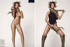 Rihanna nue dans GQ 2013