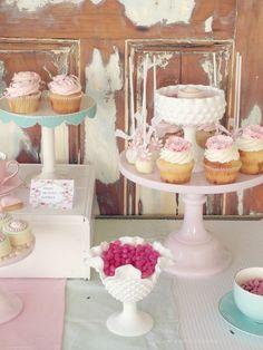 Shabby tea party on mamabearskitchen.com.au
