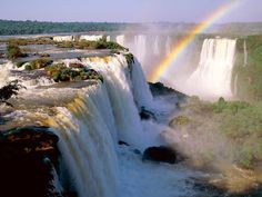 Iguassu Falls, Argentina and Brazil. I've never seen a more breath-taking place! I would go back in a heartbeat!